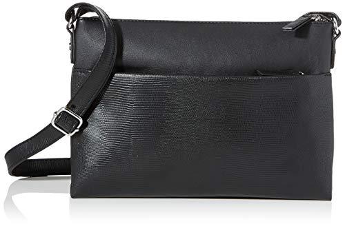 s.Oliver (Bags Damen 39.911.94.3996 Umhängetasche, Schwarz (Black), 3,5x20x27,5 cm