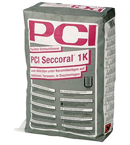 PCI SECCORAL 1K Flexible Dichtschlämme 15 kg - Für Innen & Außen - Boden & Wand