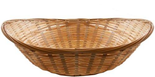 Get Goods - Juego de cestos ovalados (8 unidades, bambú)