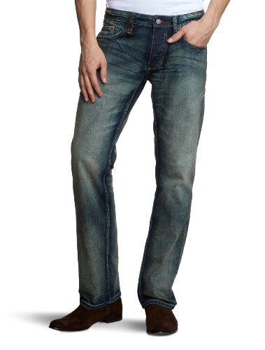 MUSTANG Herren Jeans TBH Power Blau (light scratched used 583)
