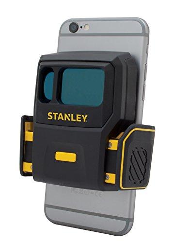 Stanley STHT1-77366 Smart Measure Pro Lasermessgerät, Flächenmessgerät, automatische, schnelle und präzise Flächenberechnung und Materialkalkulation