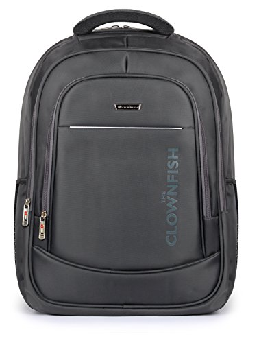 The Clownfish Maverick Backpack 40 liters |15.6 inch Laptop backpack | Travel Bag (Grey)