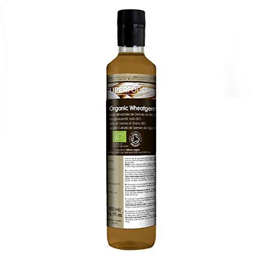 Naissance Aceite culinario de Germen de Trigo Virgen BIO - 500ml - Convive, certificado ecológico y...