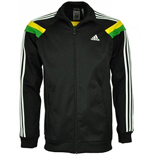Adidas SE Anthem Track Top TT Jacke S schwarz / gelb / grün (Track Adidas-männer Jacket)