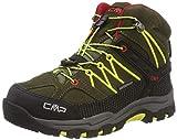 CMP Unisex-Kinder Rigel Mid Trekking- & Wanderstiefel, Grün (Olive-Bamboo 00fc), 30 EU