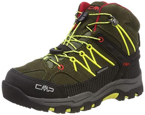 CMP Unisex-Kinder Rigel Mid Trekking- & Wanderstiefel, Grün (Olive-Bamboo 00fc), 31 EU