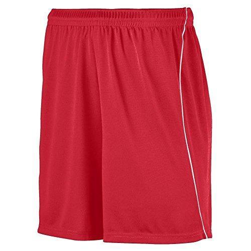 Augusta -  Pantaloncini sportivi  - Uomo Multicolore - rosso/bianco