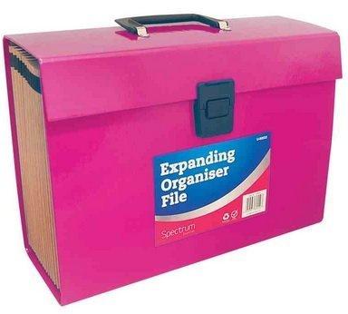 Erweiterung der Organizer-Datei - A4 Dokumente Foolscap Ordner 19 Tasche Erweiterungsbox - Farben können variieren (21 Pocket-datei-ordner)