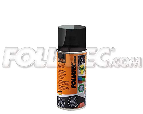 Foliatec 20362F Spraydose Farbe Abziehbar für Viele Untergründe, Schwarz -