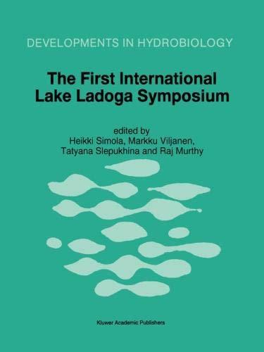 The First International Lake Ladoga Symposium: Proceedings d'occasion  Livré partout en Belgique