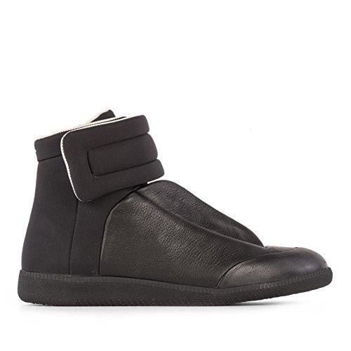 maison-margiela-hombre-s57ws0114s45373900-negro-cuero-zapatillas-altas