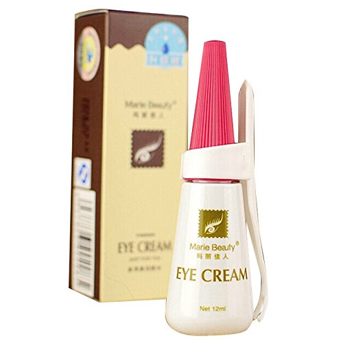 Makeup Glue - Marie Beauty Eye Cream Gel Glue False Eyelash Makeup Favor Extension Double Eyelid 12ml by Marie Beauty
