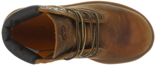 "Timberland, Authentic 6"" Brown Medium Brown, Scarpe per bambini, Unisex - bambino Rust Smooth"