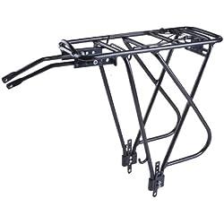 Messingschlager Portaequipaje para bicicletas Traveller A ll, color negro