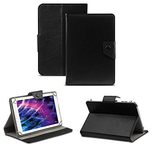 NAUC Tablet Hülle für Medion Lifetab P8514 P8314 P8312 P8311 Tasche Schutzhülle Case Cover, Farben:Schwarz