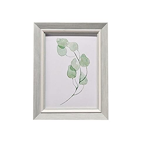 YAANCUN Classic Photo Frame Suitable For Standing ,Hanging ,Dortrait Or Landscape Photo Light Green 5