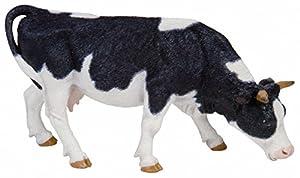 Papo- Figura Vaca Blanca y Negra pastando 15X4,2X7,15CM, Multicolor (2051150)