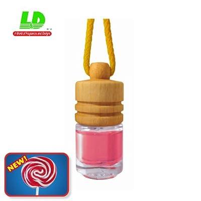 Élégant Parfum Flacon Parfum coton voiture Parfum Parfum Bouteille-Lollipop 5ml
