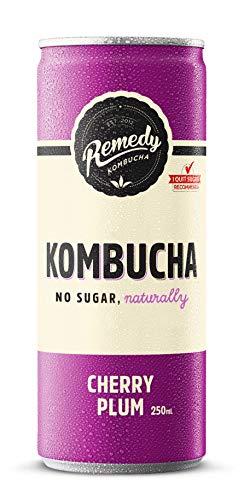 Remedy Kombucha Cherry Plum 24 x 250ml * July Deal - £5 Off*