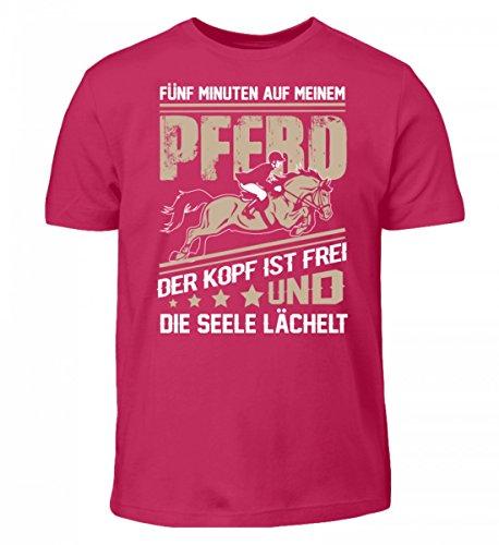 T-shirt Per Bambini Di Alta Qualità - Maglietta A Cavalli · Idea Regalo Per Cavalli / Fan Equestri · Motivo Cavallo / Dicendo · Sorbetto Colori Diversi