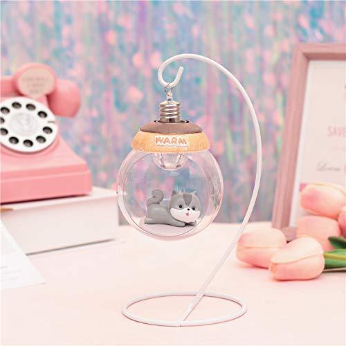 chenk musik nette maus hängenden korb lampe dekoration dekoration kleine nachtlicht tischlampe kleine lampe kreative handwerk 12,5 * 19,5 cm ()