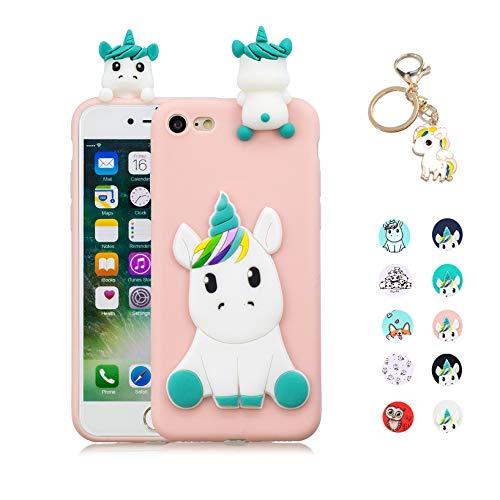 Kawaii-Shop Funda Compatible iPhone 7 8 Silicona Case