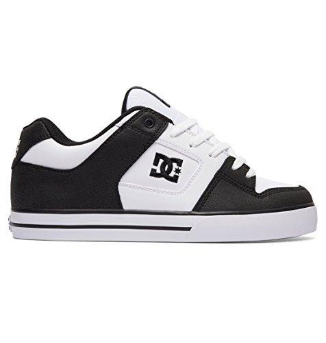 DC Shoes - Pure M Shoe - Sneaker, homme Black/White/Black