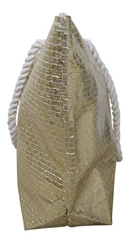 Lorenz Borsa da spiaggia oro Bronze large Gold