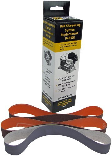 Sharp System (Work Sharp WS3000 Belt Sharpening System Replacement Belt Kit (WS3000 Only) by Work Sharp)