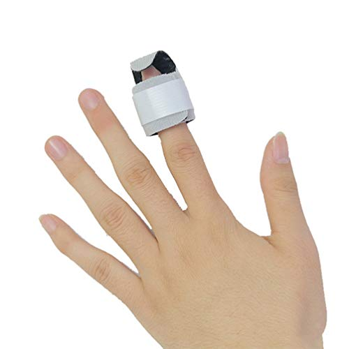 WHXML 1pcs Finger Zahnspange, Syndrom distalen Phalanx Fixation Brace Schutz Splint Nagel Verletzung Knochenbruch Bodybuilding Krafttraining Crossfit Wrap Verstauchungen
