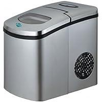 4063–Máquina para hacer cubitos o Compact Slim Plata–el pequeño potentes
