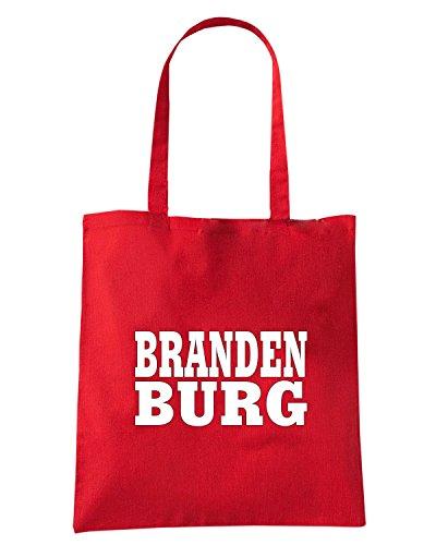 T-Shirtshock - Borsa Shopping WC0840 BRANDENBURG GERMANY LAND CITY Rosso