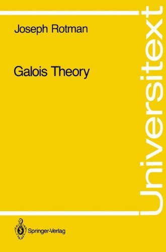 Galois Theory (Universitext)