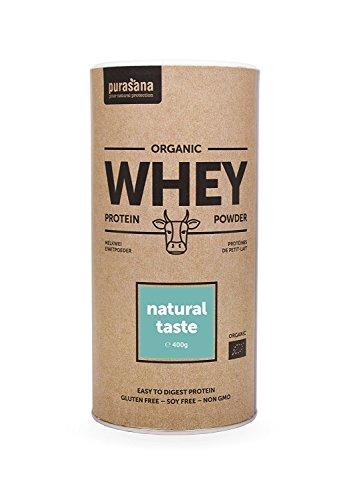 Purasana - Single Whey Protein powder - Natural - supplément 100% naturel