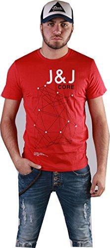 Jack&Jones Jco Fan Tee SS Chinese Red