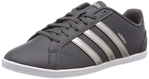 Adidas Damen Coneo QT Fitnessschuhe, Grau (Grey Six/Platinum Met./Ftwr White), 40 EU (6.5 UK)