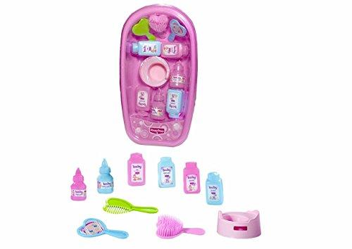 Rosa Toys- Bañera con Accesorios baño 38x20x10, (111)