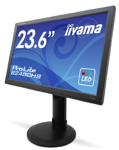 Cheap IIYAMA B2480HS-B1 23.6 inch Widescreen LED Monitor (2ms, DVI/MM/HAS/HDMI) Special