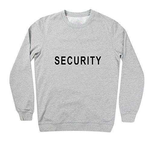 SECURITY Felpe Unisex Grigio