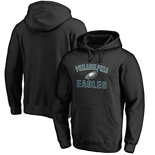 RTMJUNMA ◆ Philadelphia Eagles Herren-American Football-Trikot Herren-Fans Unisex - Amerikanischer Fußball Training Hoodie