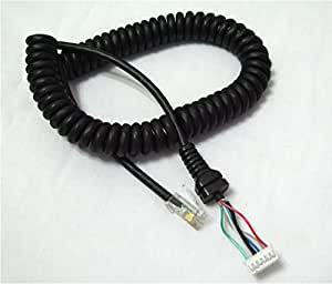 YHC Replacement Mic Cable Cord Wire pour Yaesu MH-48A6J FT-7800 FT-8800 FT-8900 FT-7100M FT-2800M FT-8900R
