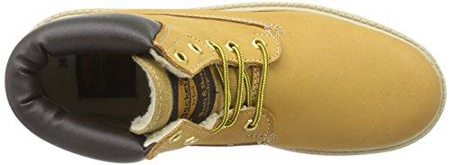 Dockers by Gerli 35FN701, Boots mixte enfant Jaune (Golden Tan 910)