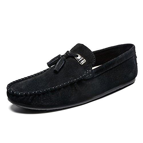 LHomme conduisant la voiture Patins Chaussures Casual Chaussures Casual classique de haute qualité black