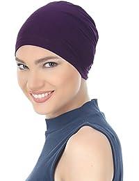 Gorro algodón esencial para pérdida De pelo, diseño De signo zodiacal Cáncer, Chimio