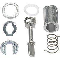 KKmoon Kit de reparación de Cierre de Puerta Rueda Delantera Izquierda Derecha Piezas de Repuesto para