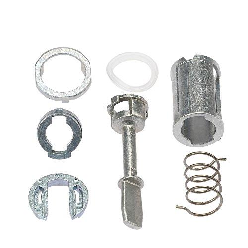 KKmoon Tür schloss Zylinder Reparatur Kit vorne links rechts Ersatzteile für PASSAT LUPO AROSA LEON TOLEDO -