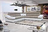 Ideales Ecksofa mit Schlaffunktion Wohnlandschaft Alto Polstersofa Couch XL Sofa 26 (Links)