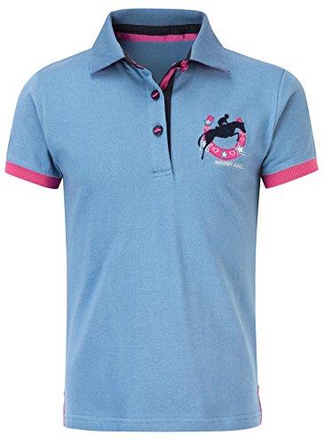 harry-hall-girls-mappleton-polo-shirt-cobalt-blue-rose-pink-3-4-years