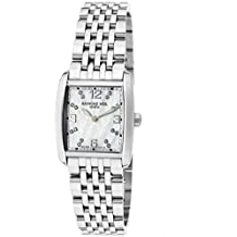 Raymond Weil Mujer Blanco Diamante Don Giovanni Mop Dial Acero inoxidable