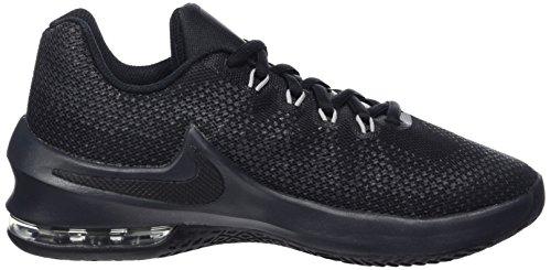 Nike Jungen Air Max Infuriate (Gs) Turnschuhe Schwarz (Black/black/anthracite/dk Grey/wolf Grey/mtlc Dk Grey)